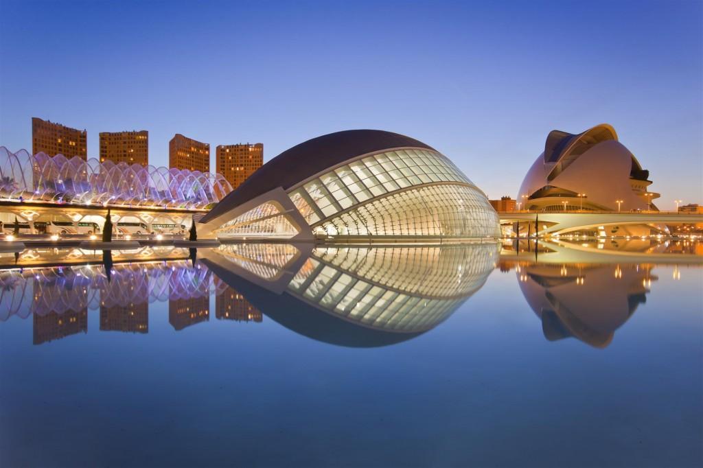 Valencia. Ciudad de las Artes y las Ciencias